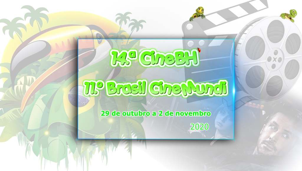 14a CineBH – Mostra de Cinema de Belo Horizonte e o 11o Brasil CineMundi – International Coproduction Meeting acontecem em ambiente virtual entre os dias 29 de outubro e 2 de novembro