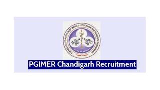 PGIMER Recruitment 2021