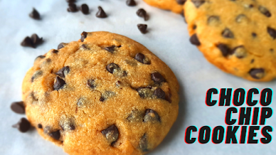 How to Make Choco Chip Cookies  Chocolate Chip Cookies Easy Choco Chip Cookies Asha and Anita