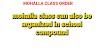 स्थानाभाव होने पर शाला परिसर में लगाया जा सकता है मोहल्ला क्लास