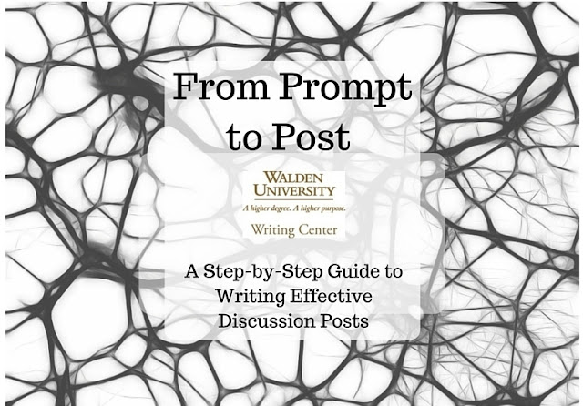 From Prompt to Post: A Step-by-Step Guide to Writing Effective Discussion Posts