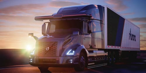 Volvo and Aurora are developing semi-autonomous trucks