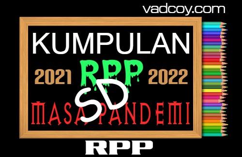 Kumpulan RPP PAI Masa Pandemi, Kelas 1-6 SD Semester 1 Tahun 2021/2022