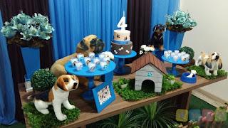 Decoração festa infantil Cachorros Porto Alegre