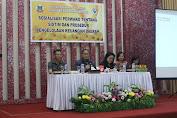 Wakili Walikota, Sekot Buka Sosialisasi Perwako Pengelolaan Keuangan