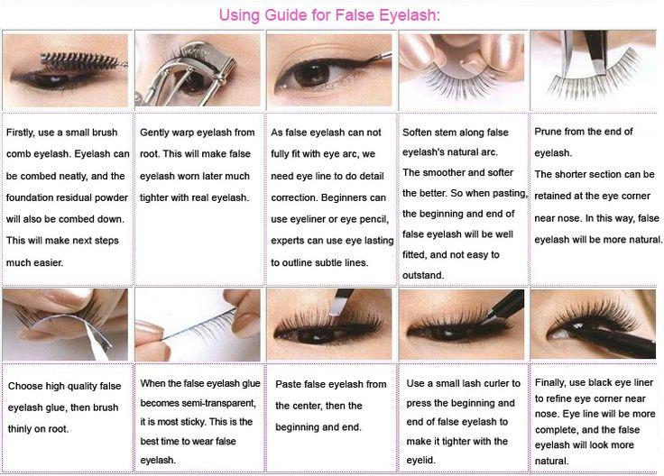 Yota Plati Makeup Artist: * False Lashes