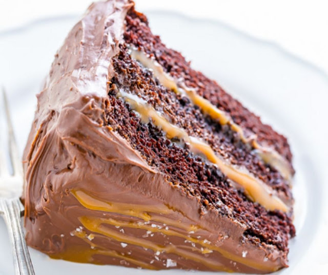 Delicious Salted Caramel Chocolate Cake