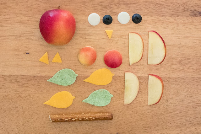 How to Make an Apple Owl Lunch For Your Kids!