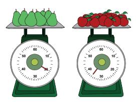 berat buah pada timbangan www.simplenews.me