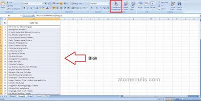 Cara Mengetahui Tulisan Duplikat di Microsoft Excel