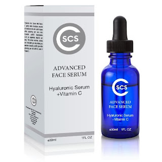 SCS Advanced Face Serum Hyaluronic Acid Serum With Vitamin C