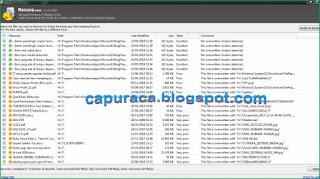 Cara menggunakan Recuva untuk mengembalikan file yang terhapus
