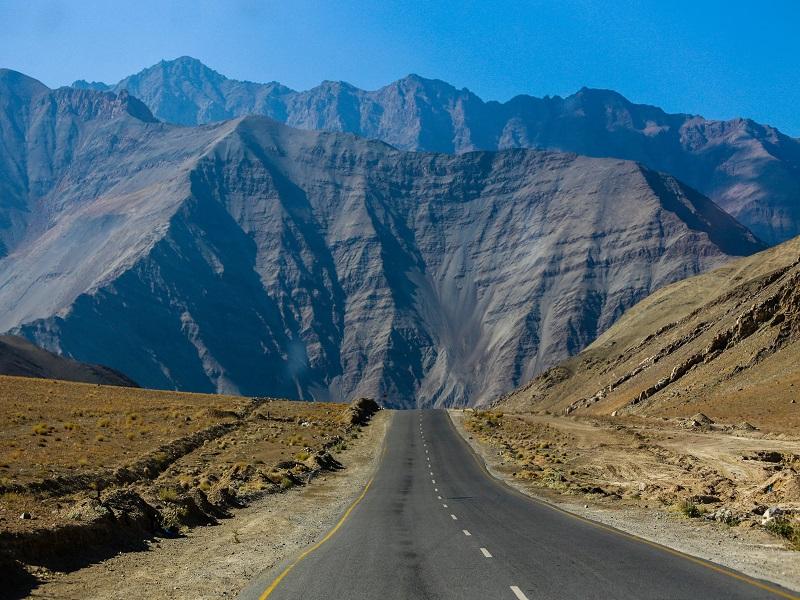 The Amazing World : Magnet Hill, Leh, Ladakh, India.