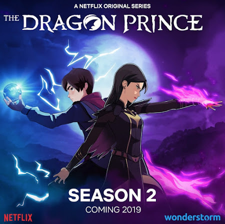 Poster Of The Dragon Prince 2019 Watch Online Free Download