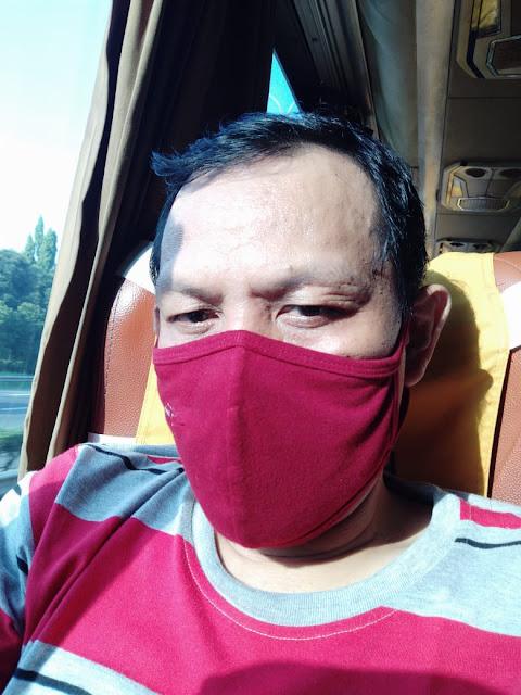 naik pesawat harus pakai masker