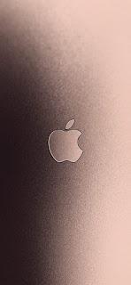 خلفيات ايفون شعار ابل من الألومنيوم لفون