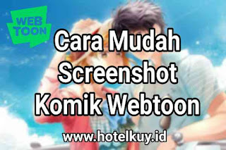 cara screnshot webtoon