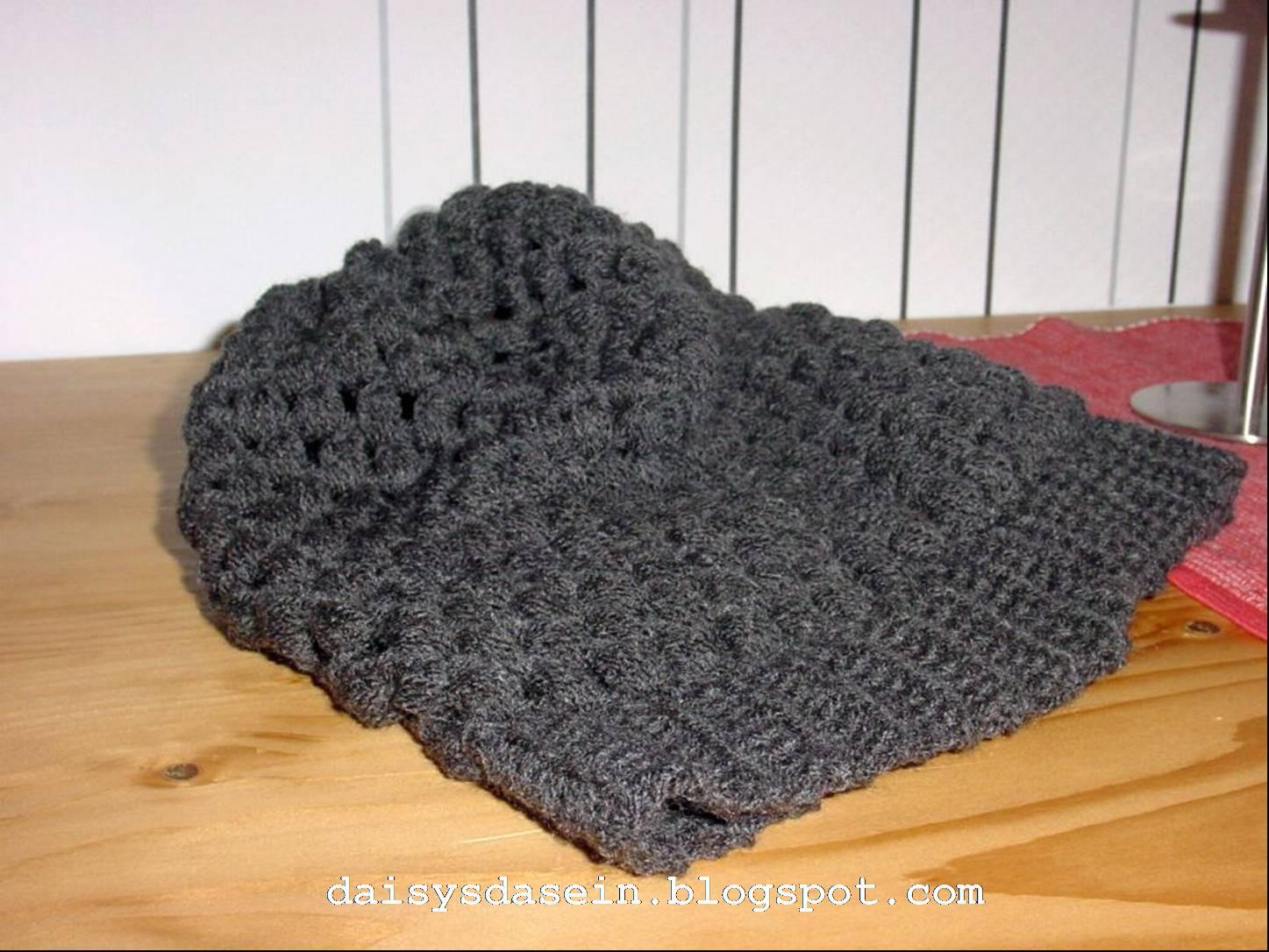 Daisys Dasein Urban Jungle Crocheted Slouchy Beanie Oder Auch
