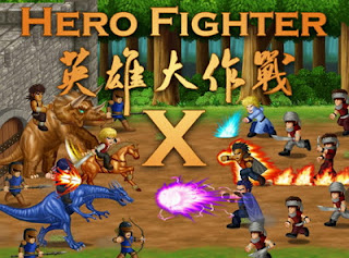 Hero Fighter X V1.08 MOD Apk (Gems+Energy+Heroes Unlocked)