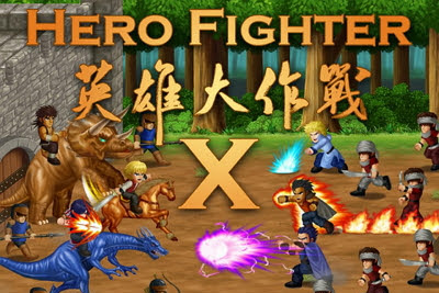 Download Game Hero Fighter X V1.08 MOD Apk (Gems+Energy+Heroes Unlocked) Terbaru