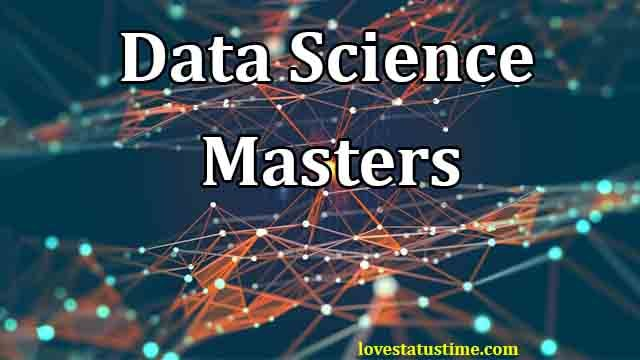 data science masters in uk | online data science masters
