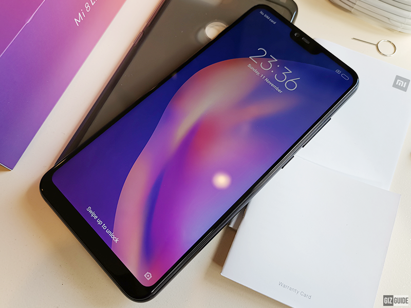 Big screen, small notch
