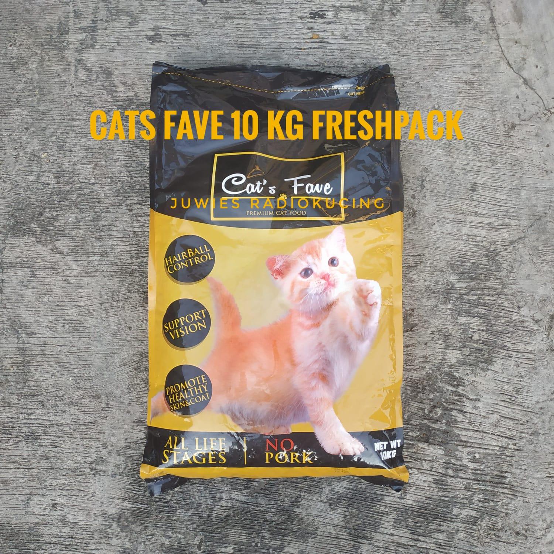 Review Makanan Kucing Cat S Fave Sudah All Life Stage Semua Umur Dan Bebas Babi Lho Dan Katanya Produksi Indonesia Beneran Radiokucing Com