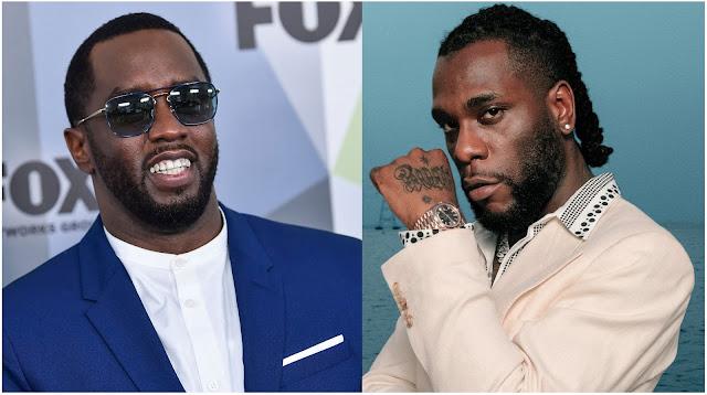 'YOU DID IT KING' - Diddy Congratulates Burna Boy On The Grammy Award Win