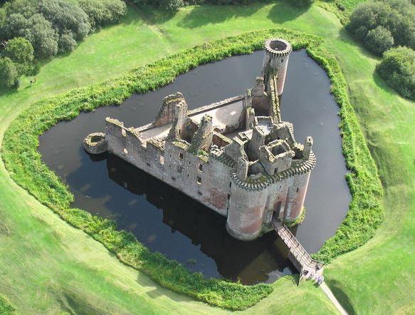 kastil, pertahanan natural