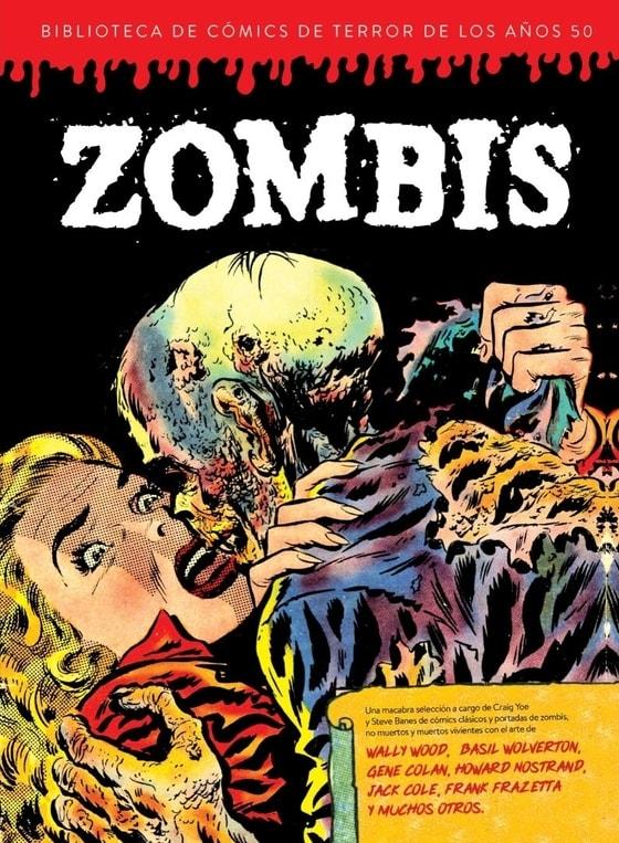 Biblioteca de Cómics de Terror de los Años 50, Vol 3: Zombis