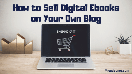 sell ebook online blog