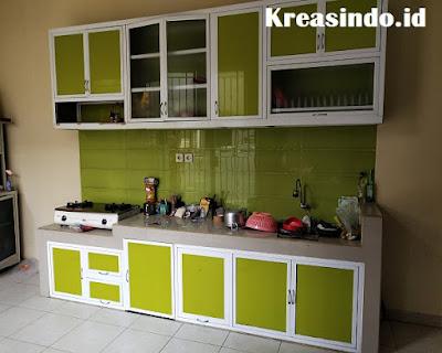 Buat Kitchen Set Aluminium Yuk, Ini Dia Jasa pembuatan Kitchen Set Aluminium Terbaik Depok