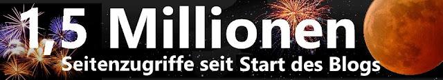 """""""Rusted Moon"""", """"1,5 Millionen Seitenzugrife"""""""