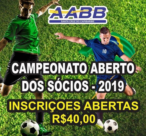 Campeonato de futebol da AABB Santa Cruz do Capibaribe está com inscrições abertas