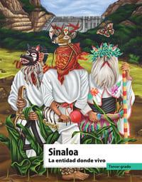 Libro de texto La entidad donde vivo Sinaloa Tercer grado 2021-2022