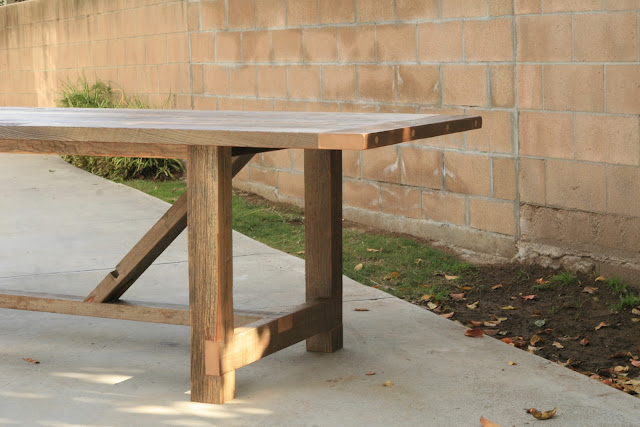 Arbor Exchange Reclaimed Wood Furniture 12 Foot Outdoor