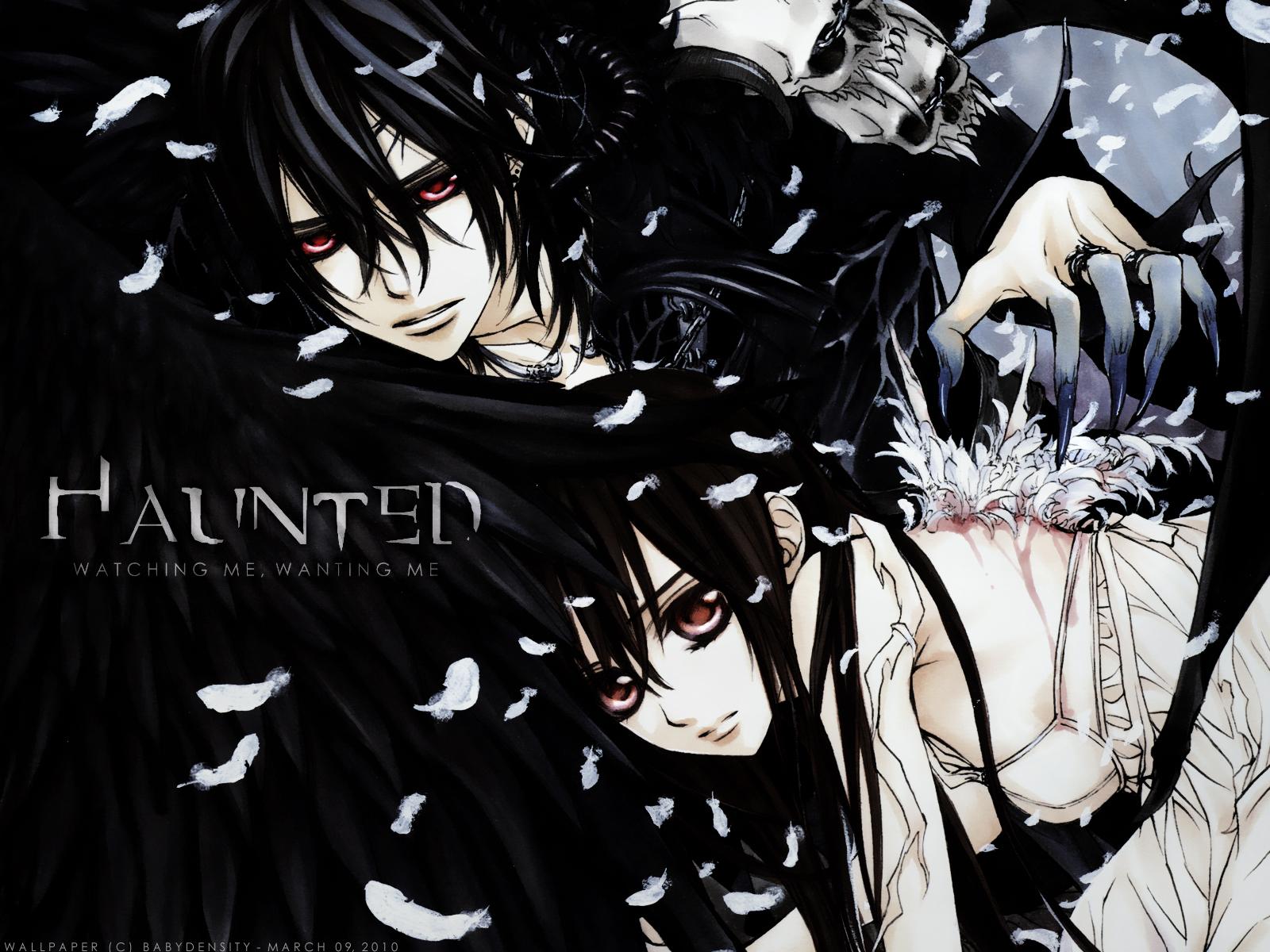 Manganime: Vampire Knight  Vampire Knight Kaname Wallpaper