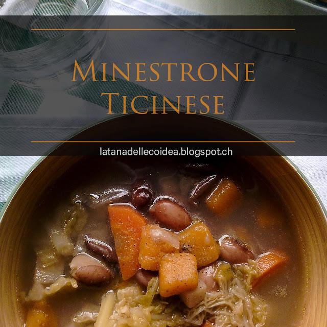 Minestrone ticinese, tipico piatto invernale