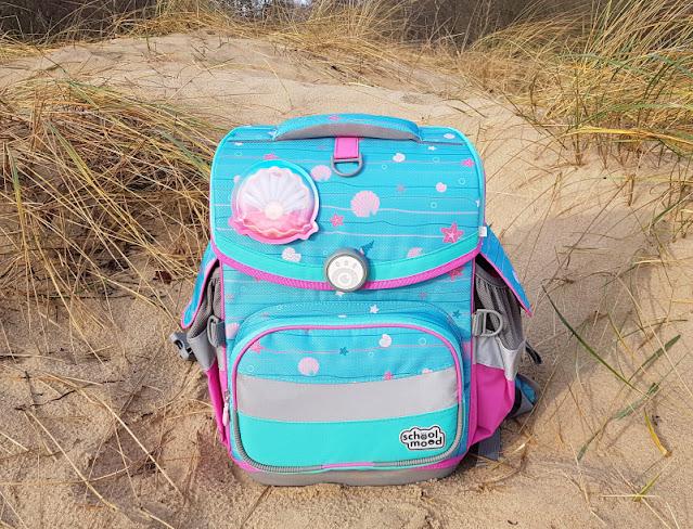 Einschulung 2021: Ein Meerjungfrauen-Schulranzen für unser Küstenmädchen. Unser Mädchen liebt das Meerjungfrauen-Design mit Muscheln.