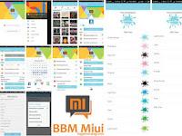 BBM MOD MIUI 7 All Version Download