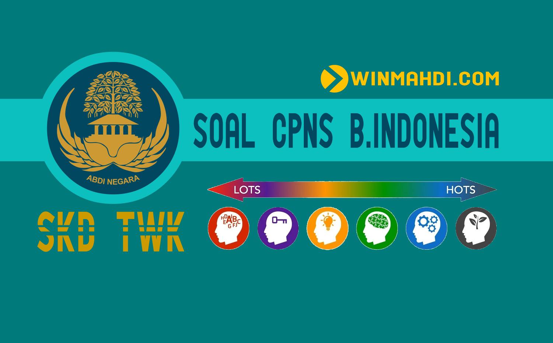 Soal CPNS Bahasa Indonesia
