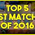 TOP 5: Melhores Lutas de 2016 até agora!
