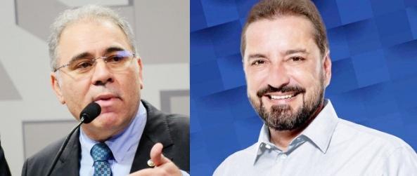 Hildon Chaves recebe o ministro da saúde Marcelo Queiroga nesta quinta (03)