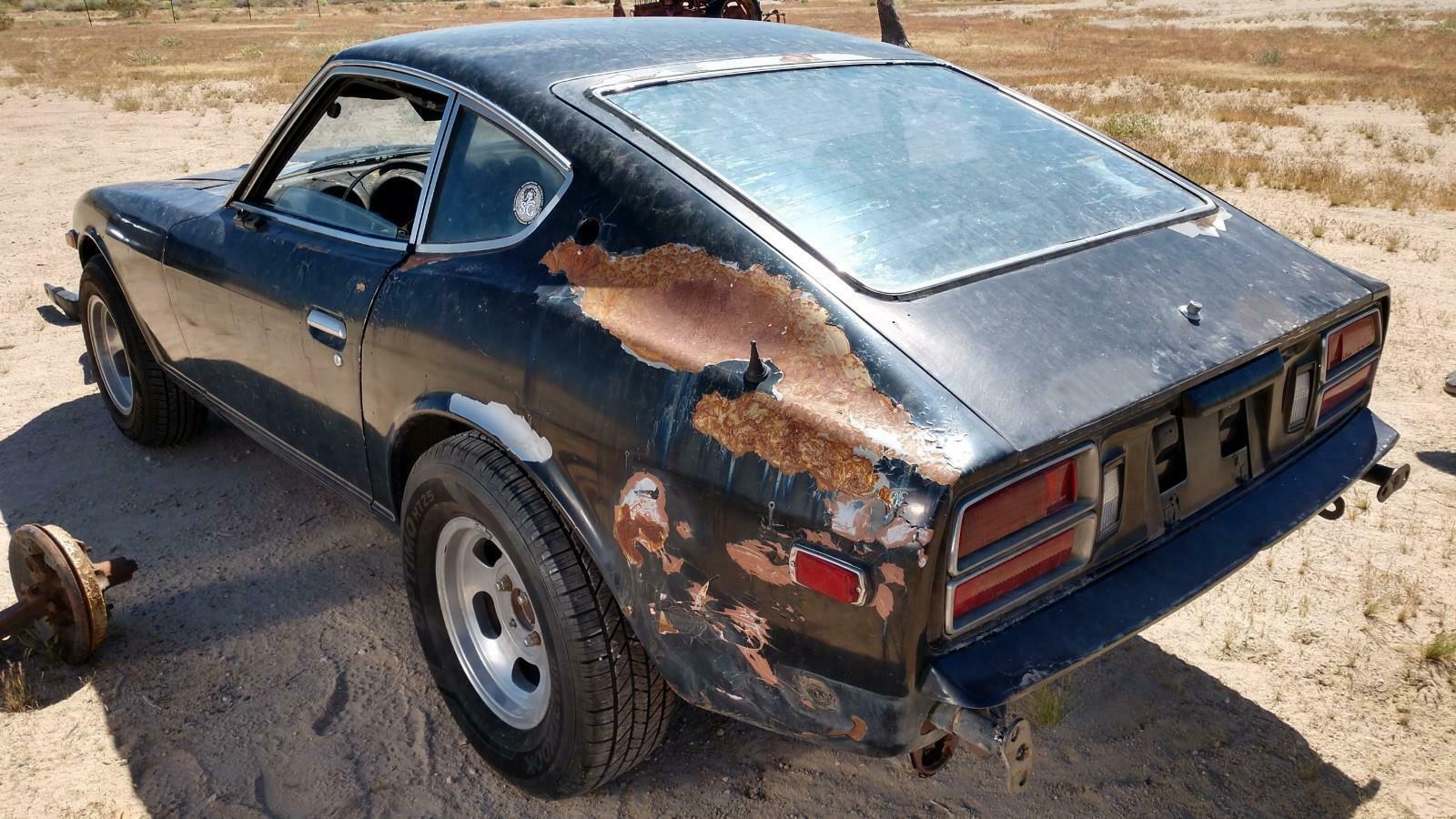 Daily Turismo: Rusty Z Car: 1978 Datsun 280Z