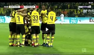 فيديو : بوروسيا دورتموند يفوز بثلاثية مقابل هدفين على باير ليفركوزن الاحد 24-02-2019 الدوري الالماني