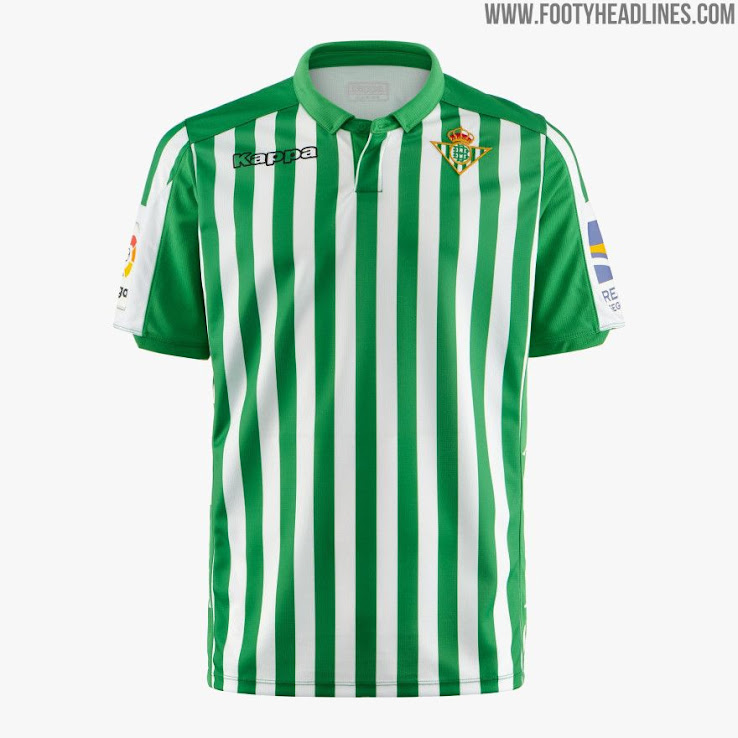 Calendario Betis 2020.All 19 20 La Liga Kits Home Away Third Overview Footy Headlines