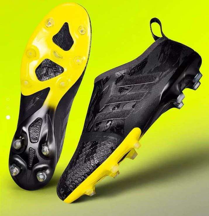 e3e26f801f41 Adidas Glitch 2017 Mirage Pack - Black / Yellow This image shows the new  blackout Adidas Glitch outer skin.