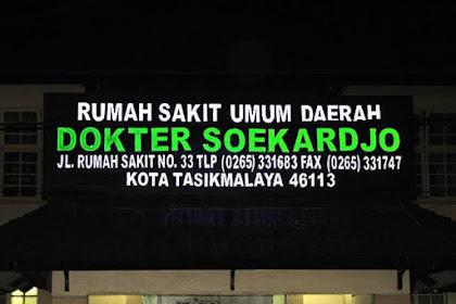 LOKER OPERATOR LIFT BARANG RSUD DR. SOEKARJHO TASIKMALAYA