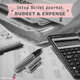 bullet journal setup budget ideas