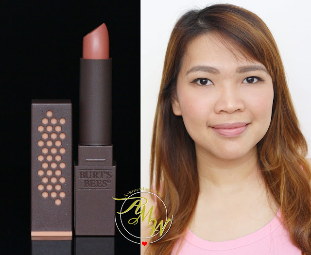 a photo of Burt's Bees 100% Natural Lipsticks in Nile Nude